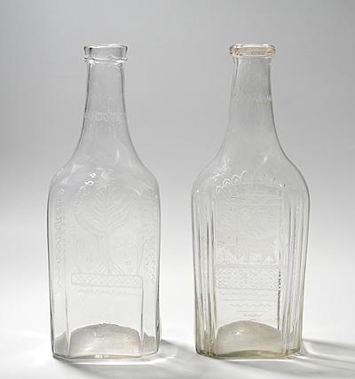 Schuler Auktionen AG - 2 Taufflaschen