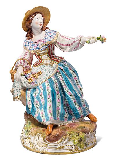 Schuler Auktionen AG - Figur: Gärtnerin, St. Petersburg