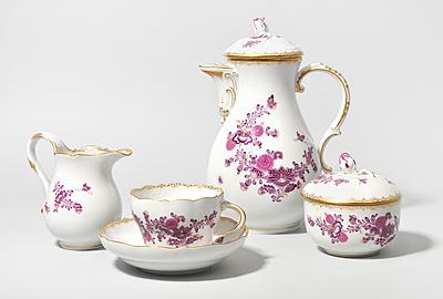 Schuler Auktionen AG - Kaffee- und Teeservice, Meissen