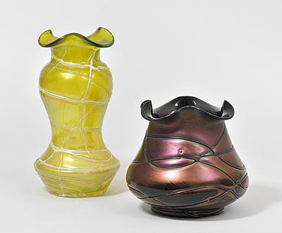 Schuler Auktionen AG - Lot: 2 Vasen, Böhmen