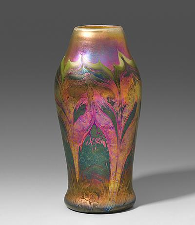 Schuler Auktionen AG - Vase, Louis Comfort Tiffany