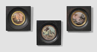 Schuler Auktionen AG - Lot: 3 Hinterglasmalereien