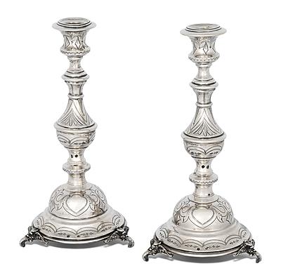 Schuler Auktionen AG - 1 Paar Kerzenstöcke