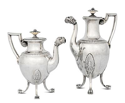Schuler Auktionen AG - Tee- und Kaffeekanne