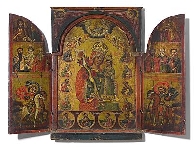 Schuler Auktionen AG - Grosses Triptychon