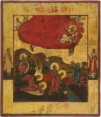 Schuler Auktionen AG - Die feurige Himmelfahrt des Propheten Elias