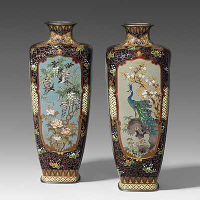 Schuler Auktionen AG - 1 Paar kleine Vasen