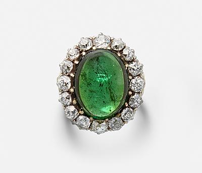 Schuler Auktionen AG - Turmalin-Diamant-Ring