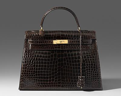 """Schuler Auktionen AG - Hermès, """"Kelly"""" Handtasche aus exklusivem Krokoleder"""