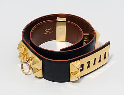 """Schuler Auktionen AG - Hermès, Damengürtel """"Collier de Chien"""""""