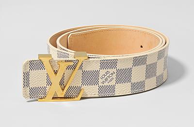 """Schuler Auktionen AG - Louis Vuitton, Gürtel """"Initiales"""""""