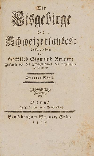 Schuler Auktionen AG - Gruner,  Gottlieb Sigmund