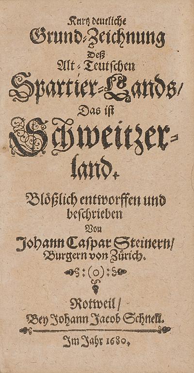 Schuler Auktionen AG - Steiner, Johann Caspar