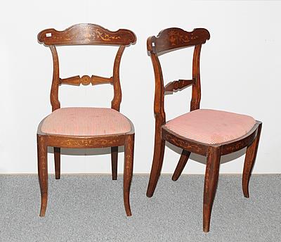 Schuler Auktionen AG - 1 Paar Stühle
