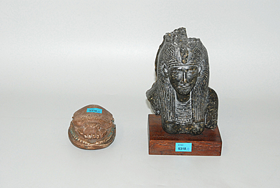 Schuler Auktionen AG - Lot: 2 Altägyptische Museumsrepliken