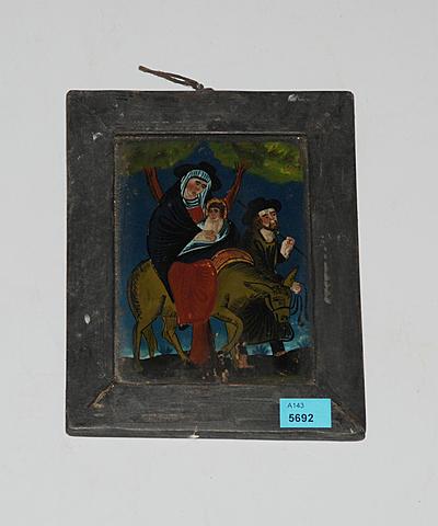 Schuler Auktionen AG - Kleines Hinterglasbild