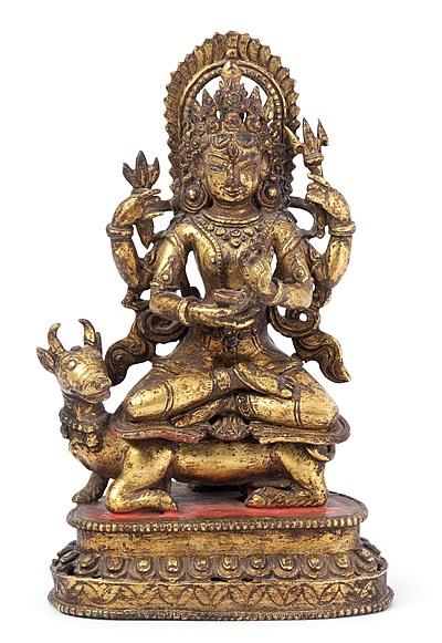 Schuler Auktionen AG - Vierarmiger Bodhisattva