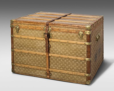 """Schuler Auktionen AG - Louis Vuitton, """"Malle Haute"""", um 1897/1899"""