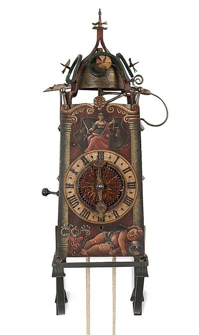 Schuler Auktionen AG - Eisenuhr nach E. Liechti. Winterthur 1569