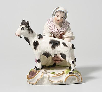 Schuler Auktionen AG - Frau mit Ziege, Frankenthal