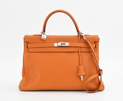 """Schuler Auktionen AG - Hermès, """"Kelly retourné 35"""""""