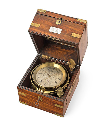 Schuler Auktionen AG - Schiffschronometer, Lewis Woolf Nr.5234