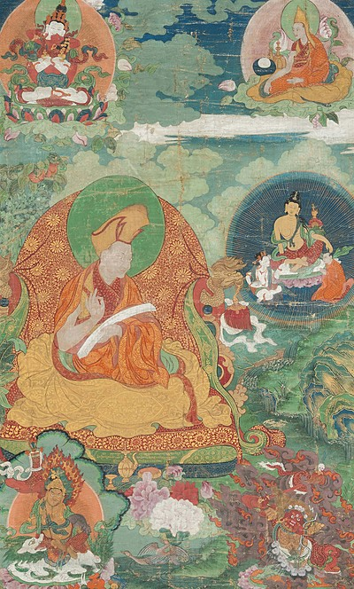 Schuler Auktionen AG - Thangka des ersten Panchen Lama