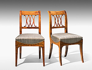Schuler Auktionen AG - Satz von sechs Stühlen
