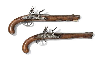 Schuler Auktionen AG - 1 Paar Jagdpistolen