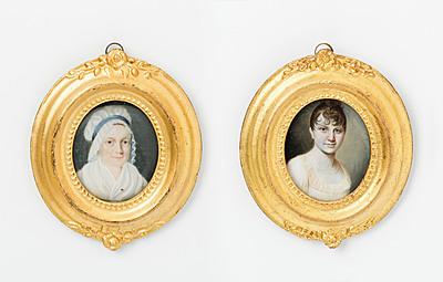 Schuler Auktionen AG - Lot: 2 Damenporträts