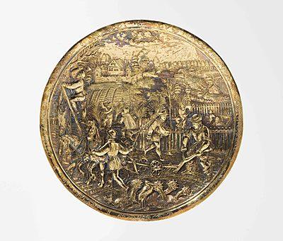 Schuler Auktionen AG - Schalenboden, Abraham Gessner (1552–1613)