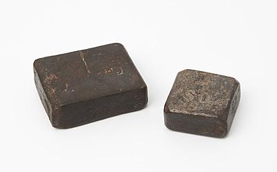 Schuler Auktionen AG - Lot: 2 Blockgewichte