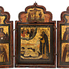 """Schuler Auktionen AG - Triptychon """"Klostergründer"""""""