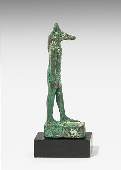 Schuler Auktionen AG - Anubis-Statuette