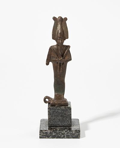 Schuler Auktionen AG - Kleine Statuette des Osiris