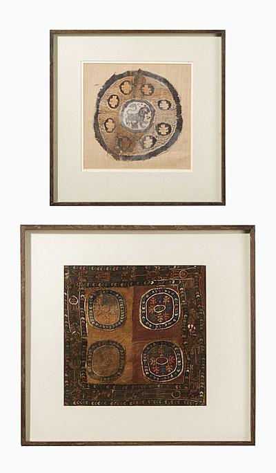 Schuler Auktionen AG - 2 Koptische Textilfragmente