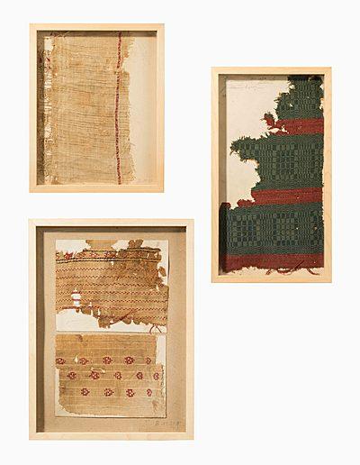 Schuler Auktionen AG - 3 koptische Textilfragmente