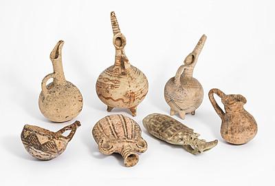 Schuler Auktionen AG - Lot: 7 bronzezeitliche Gefässe