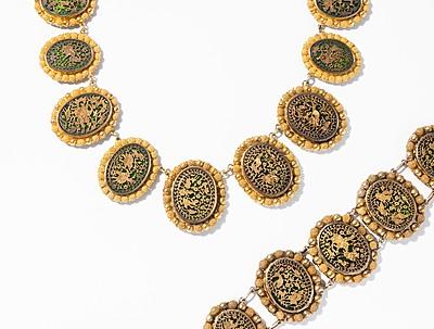 Schuler Auktionen AG - Gold-Glas-Set