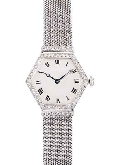 Schuler Auktionen AG - Diamant-Damenarmbanduhr