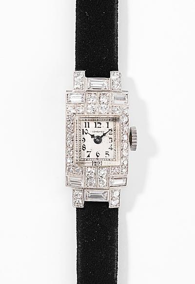 Schuler Auktionen AG - Longines Diamant-Damenuhr