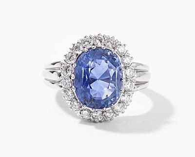 Schuler Auktionen AG - Saphir-Brillant-Ring