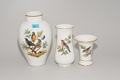 Schuler Auktionen AG - Lot: 3 Vasen