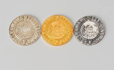 Schuler Auktionen AG - 3 Gedenkmünzen
