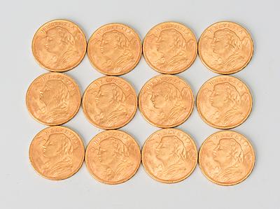 Schuler Auktionen AG - 12 Goldvreneli