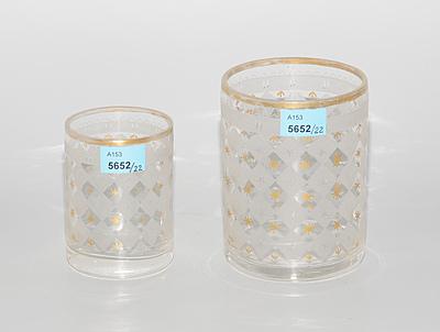 Schuler Auktionen AG - Lot: 22 Gläser