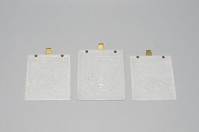 Schuler Auktionen AG - Lot: 3 Lithophanie Platten