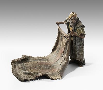 Schuler Auktionen AG - Figur: Teppichhändler