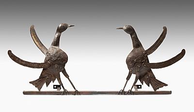 Schuler Auktionen AG - 1 Paar Vogelfiguren