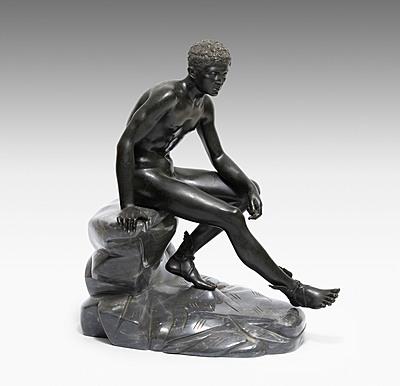 """Schuler Auktionen AG - Figur """"Sitzender Merkur"""""""